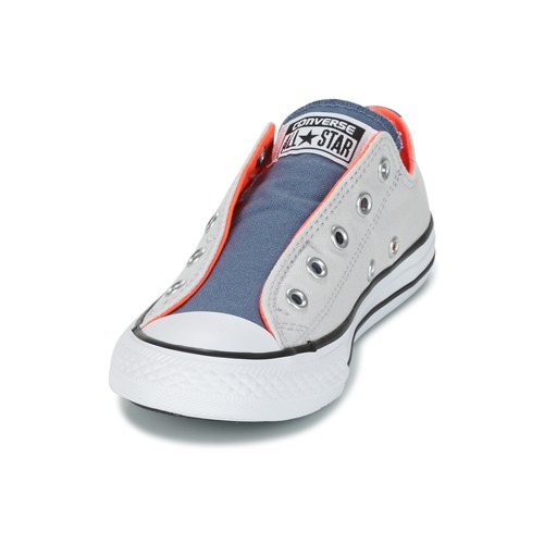 Converse Chuck Taylor All Star Slip Summer Fundamentals Slip Gris / Bleu / Orange