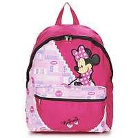 Sacs Fille Sacs à dos Disney MINNIE SCRATCH DOTS SAC A DOS BORNE Rouge / Rose