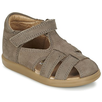 Chaussures Garçon Sandales et Nu-pieds Shoo Pom PIKA BOY Taupe