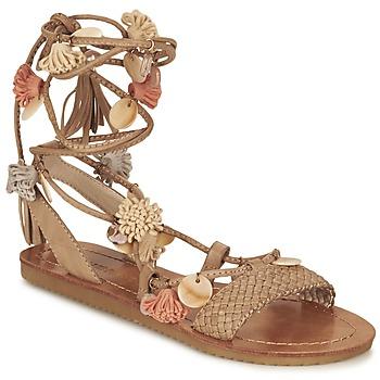 Chaussures Femme Sandales et Nu-pieds Elue par nous ZECTEUR Marron
