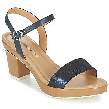 Chaussures Femme Sandales et Nu-pieds Metamorf'Ose ZACQUESTE Bleu / Marron