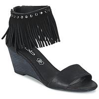 Chaussures Femme Sandales et Nu-pieds Les Petites Bombes NADIA Noir