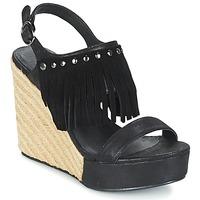 Chaussures Femme Sandales et Nu-pieds Les Petites Bombes SABINE Noir