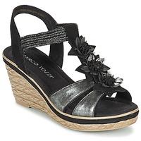 Chaussures Femme Sandales et Nu-pieds Marco Tozzi CHAVELA Noir