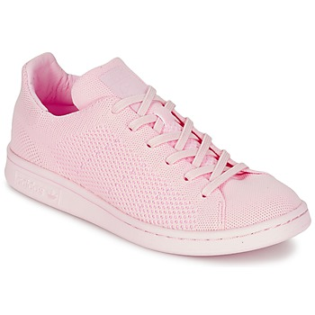 Chaussures Femme Baskets basses adidas Originals STAN SMITH PK Rose