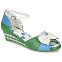 Chaussures Femme Sandales et Nu-pieds Lola Ramona LENNIE Bleu / Vert