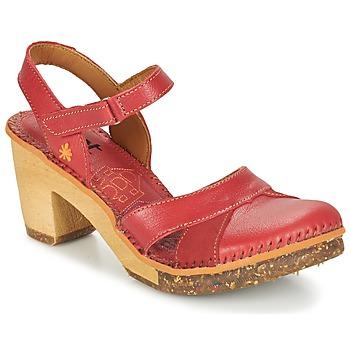 Chaussures Femme Sandales et Nu-pieds Art AMSTERDAM Carmin