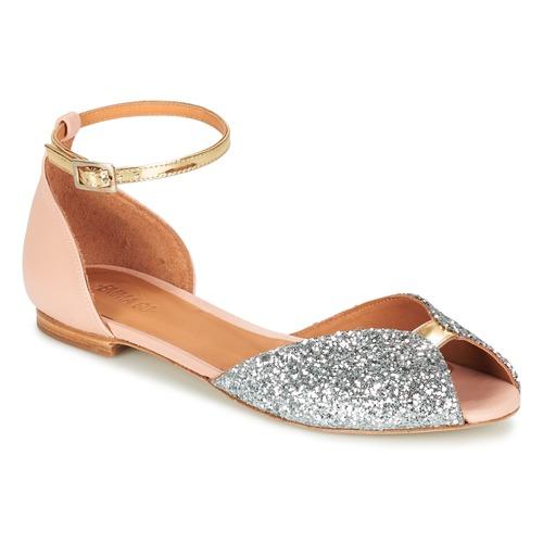 Chaussures Femme Sandales et Nu-pieds Emma Go JULIETTE Rose / Argenté / Doré