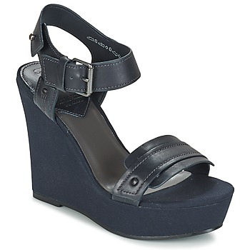 Chaussures Femme Sandales et Nu-pieds G-Star Raw CLARO WEDGE Marine