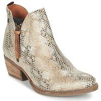 Chaussures Femme Boots Coqueterra LIZZY Beige / Serpent