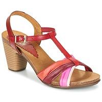 Chaussures Femme Sandales et Nu-pieds Bunker LIZ Rouge / Rose