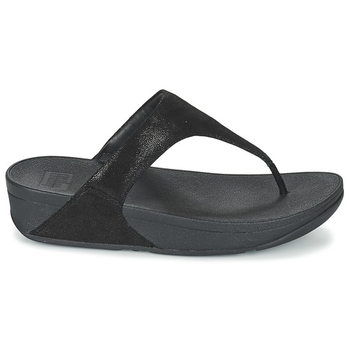 FitFlop SHIMMY SUEDE TOE-POST Noir