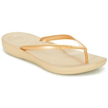 Chaussures Air max tnFemme Tongs FitFlop IQUSHION ERGONOMIC FLIP-FLOPS Doré