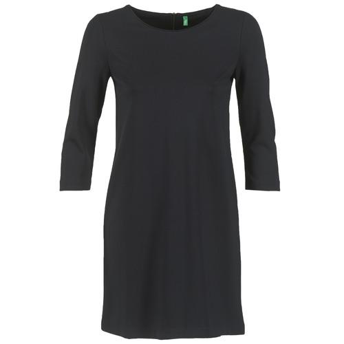 Vêtements Femme Robes courtes Benetton SAVONI Noir