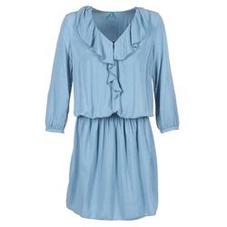 Vêtements Femme Robes courtes Benetton AFIDOUL Bleu