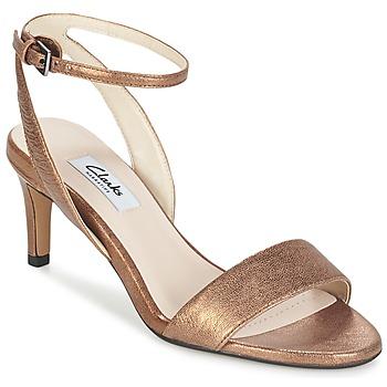 Chaussures Femme Sandales et Nu-pieds Clarks AMALI JEWEL Doré