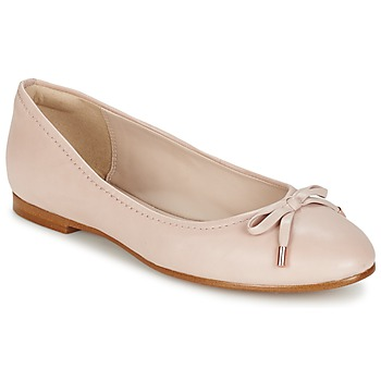 Chaussures Femme Ballerines / babies Clarks GRACE LILY Rose