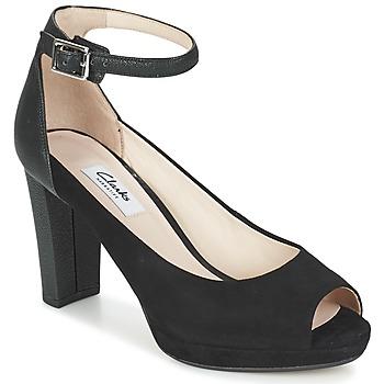 Chaussures Femme Sandales et Nu-pieds Clarks KENDRA ELLA Noir