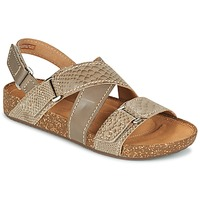 Chaussures Air max tnFemme Sandales et Nu-pieds Clarks ROSILLA ESSEX Marron