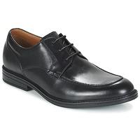 Chaussures Homme Derbies Clarks BECKFIELDAPRON Noir