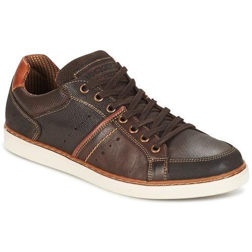 dockers by gerli roulianet marron chaussure pas cher avec chaussures baskets. Black Bedroom Furniture Sets. Home Design Ideas