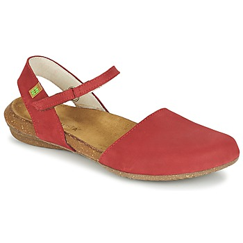 Chaussures Air max tnFemme Sandales et Nu-pieds El Naturalista WAKATAUA Rouge