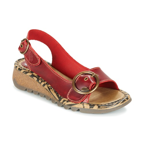 Chaussures Femme Sandales et Nu-pieds Fly London TRAMFLY Rouge