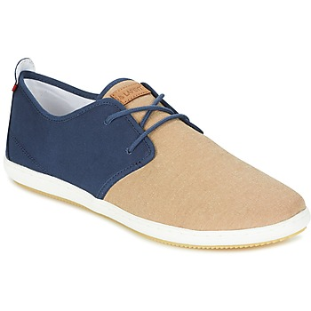 Chaussures Homme Baskets basses Lafeyt MARTE SUMMER CHAMBRAY Marine / Beige