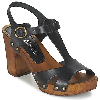 Chaussures Air max tnFemme Sandales et Nu-pieds Lola Espeleta NICIA Noir