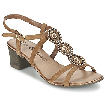 Chaussures Air max tnFemme Sandales et Nu-pieds Lola Espeleta GENIAL Cognac