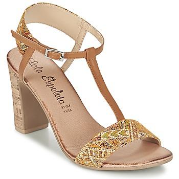 Chaussures Femme Sandales et Nu-pieds Lola Espeleta GIULIA Cognac