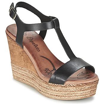 Chaussures Air max tnFemme Sandales et Nu-pieds Lola Espeleta PATSY Noir