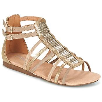 Chaussures Fille Sandales et Nu-pieds Bullboxer JEZIANA Doré