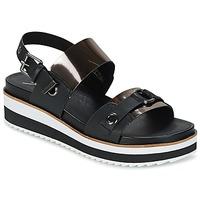 Chaussures Femme Sandales et Nu-pieds Coolway DOLPHIN Noir