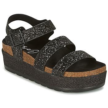 Chaussures Femme Sandales et Nu-pieds Coolway CUMBIA Noir