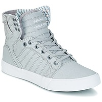 Chaussures Air max tnBaskets montantes Supra SKYTOP Gris