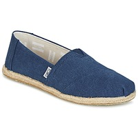Chaussures Femme Slips on Toms SEASONAL CLASSICS Marine