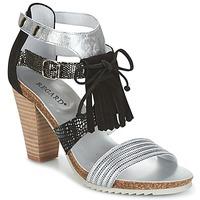 Chaussures Femme Sandales et Nu-pieds Regard RIKA Gris / Noir