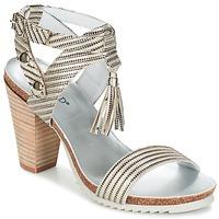 Chaussures Femme Sandales et Nu-pieds Regard RIKIL Argenté
