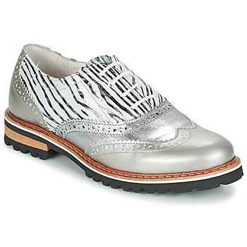 Chaussures Femme Derbies Regard ROAXA Argenté