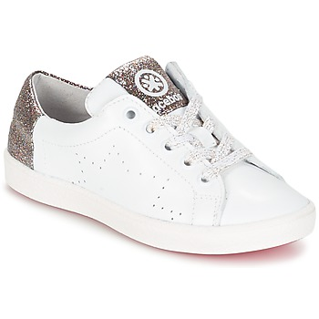 Chaussures Fille Baskets basses Acebo's SOUDIN Blanc