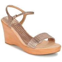 Chaussures Femme Sandales et Nu-pieds Unisa RITA Taupe