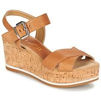 Chaussures Femme Sandales et Nu-pieds Unisa KARPI Beige