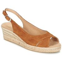 Chaussures Femme Sandales et Nu-pieds Unisa CAMPI Camel