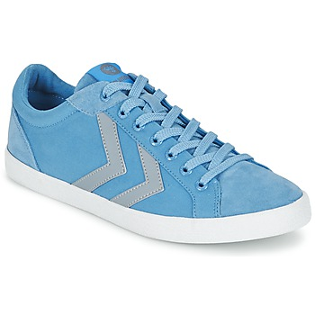 Chaussures Baskets basses Hummel DEUCE COURT SUMMER Bleu / Gris