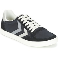 Chaussures Baskets basses Hummel TEN STAR DUO CANVAS LOW Noir / Gris