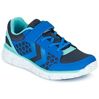 Chaussures Air max tnEnfant Baskets basses Hummel CROSSLITE JR Bleu