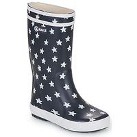 Chaussures Enfant Bottes de pluie Aigle LOLLY POP PRINT Marine / Multicolore