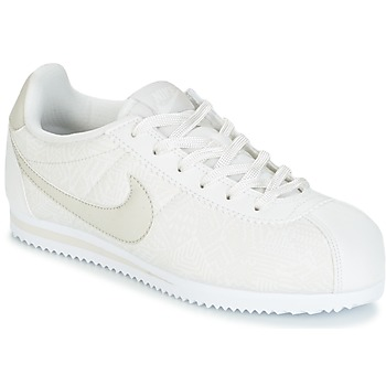 Chaussures Fille Baskets basses Nike CORTEZ LEATHER SE JUNIOR Beige