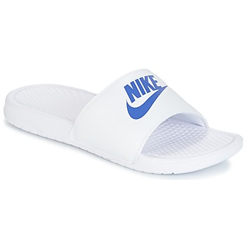 Chaussures Homme Mules Nike BENASSI JUST DO IT Blanc